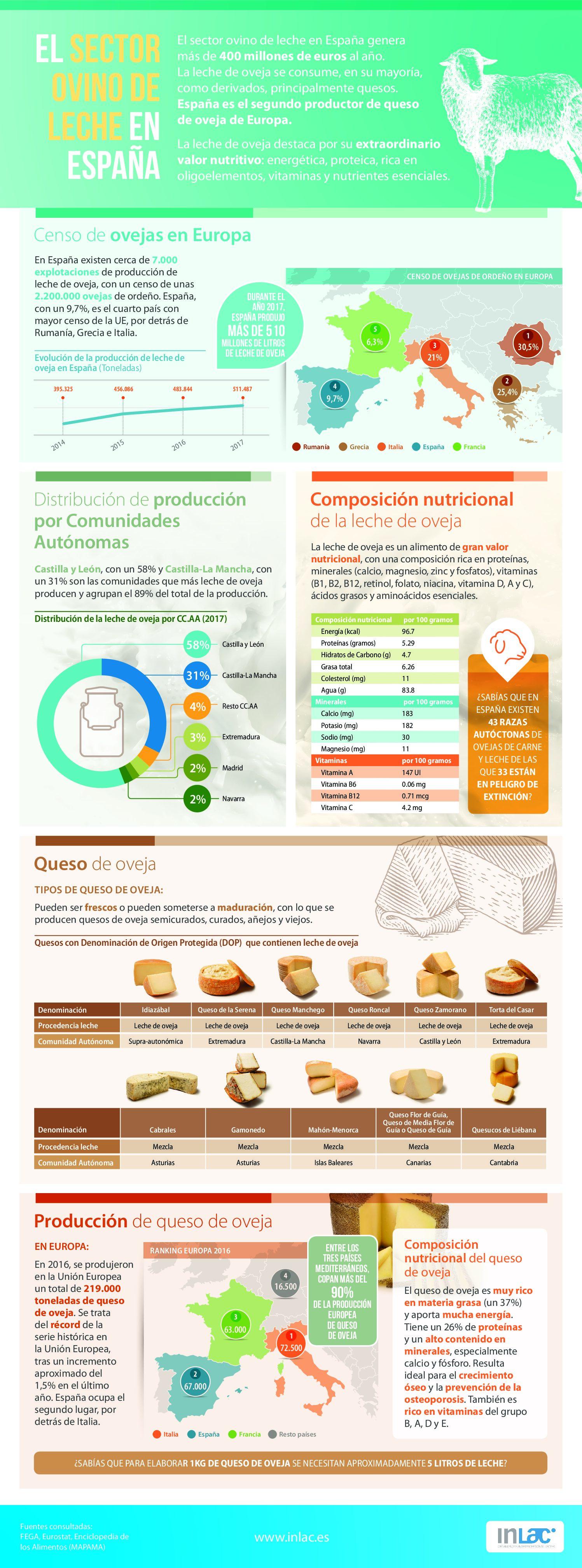 El sector OVINO DE LECHE en España