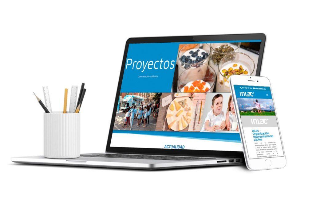 InLac estrena nueva web corporativa con acceso a toda la información sectorial, normativas de interés y al Sistema de Información Láctea (SILAC)